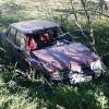 Bağ Yolunda Kaza;1 Yaralı