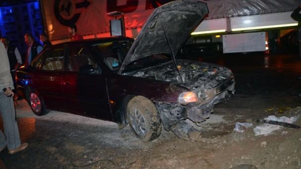 Dörtyolda Trafik Kazası: 5 Yaralı