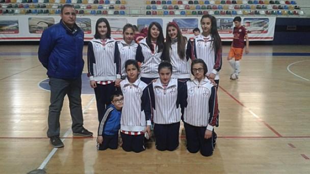 Yıldız Kızlar Futsal Türkiye Grub Şampiyonasında