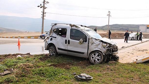 Dörtyol'da Kaza;2 Yaralı