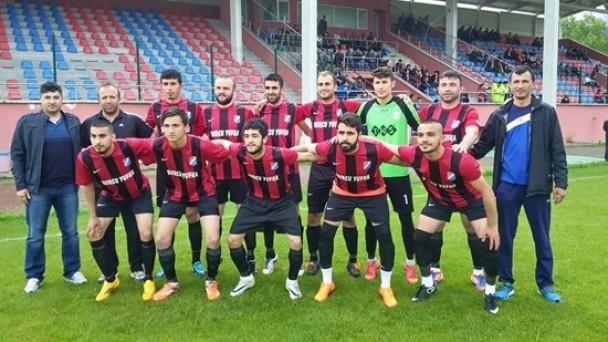 Tosya Gençlikspor 1.Amatör'ü Garantiledi