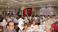 Şehit aileleri ve gazilere iftar yemeği