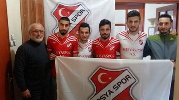 Tosyaspor 4 Yıldız Oyuncu Transfer Etti