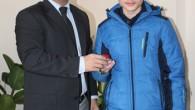 Kaymakam Cıbır Türkiye Birincisini Ödüllendirdi