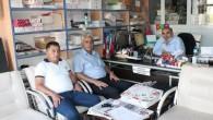 Konca ve Yılmaz'dan Gazetemize Ziyaret