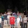 Tosya'da STK lar Demokrasi Nöbetinde
