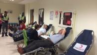 Kan bağışında bulundu