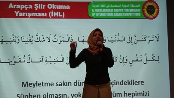Tosya'da 6.Arapça Yarışması İl Elemeleri Yapıldı
