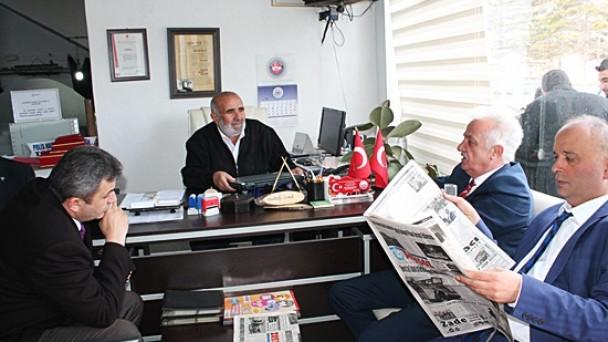 MHP Adaylarından Gazetemize Ziyaret