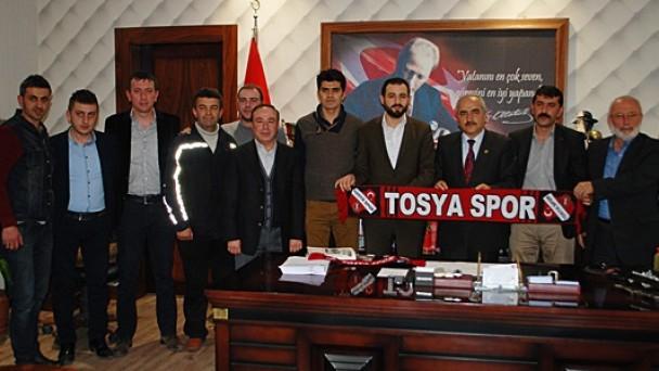 """Başkan Şahin """" Tosya Spor Başarılı Olacaktır """" dedi"""