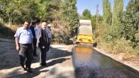 Tosya'ya 750 Bin Liralık Asfalt Yapıldı