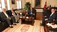Rektör Seyit Aydın'a  Ziyaret