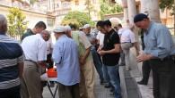 Tosya halkı Filistin'e duyarsız kalmadı