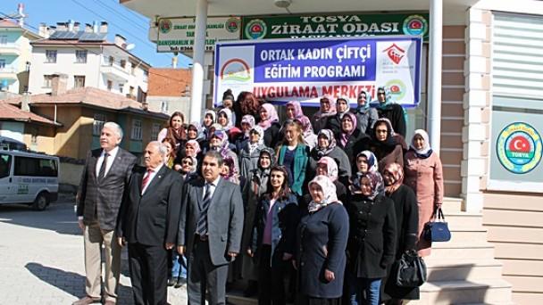 Kadın Çiftçi Eğitim Programı Uygulama Merkezi Açıldı