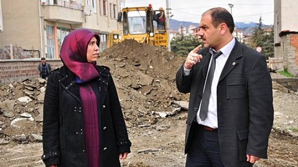 Osmanlı Caddesi'ne İlk Kazma Vuruldu