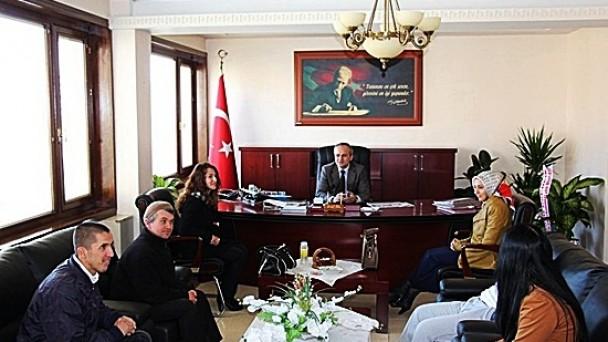 Al Gelincik'ten Kaymakam Cıbır'a Ziyaret