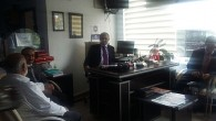 Rektör Aydın'dan Gazetemize Ziyaret