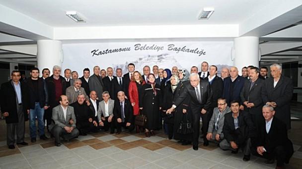Tosya Kastamonu Belediyesine Çıkarma Yaptı