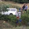 D-100 de Kaza 3 Yaralı