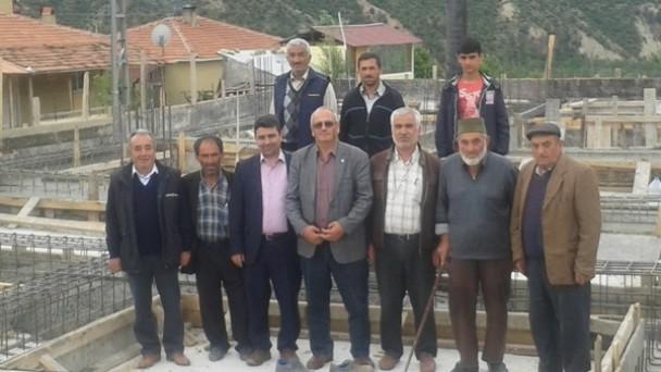 Dağardı Köyü Köy Konağının Temeli Atıldı