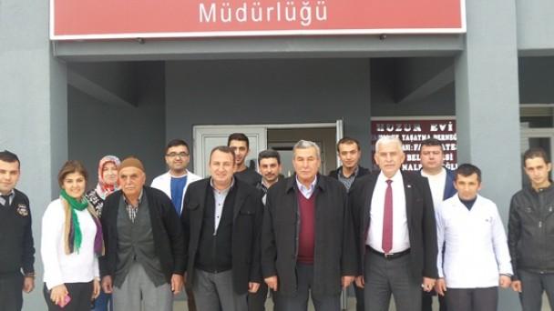 İsmail Nalbantoğlu Huzurevini Ziyaret Etti