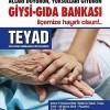GİYSİ VE GIDA BANKASI AÇILIYOR