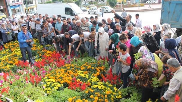 Şehrimiz Çiçek Açacak