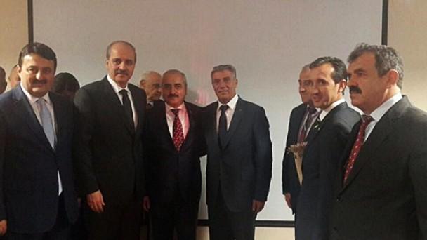 Başbakan Yardımcısı Kurtulmuş'a  Ziyaret