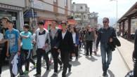 Tosya'da Gençler Atasına Saygı İçin Yürüdü