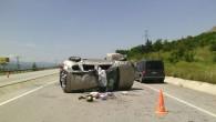 D-100'de Kaza; 5 Yaralı