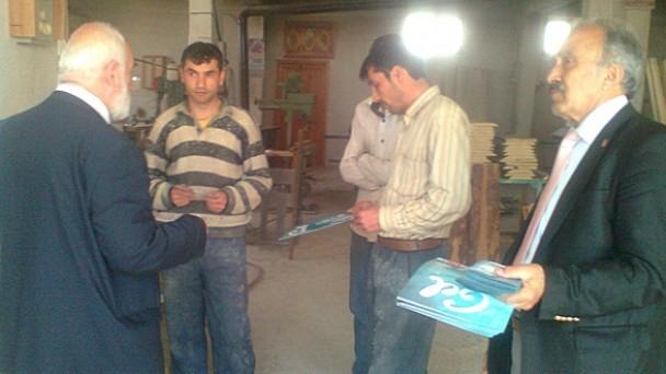 Saadet Partisi Adayları Tosya'yı Ziyaret Etti