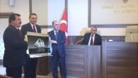 Vali Günaydın ve Milletvekili Çelik'e teşekkür belgesi