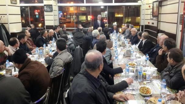 KESOB Toplantısı Tosya'da Yapıldı
