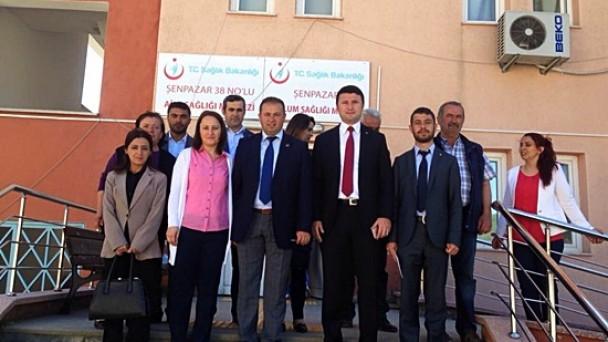 Zafer Nalbantoğlu, Şenpazar Ziyaretinde!