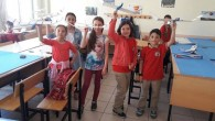 Mehmet Akif Ersoy İlkokulu'nda Model Uçak Kursu