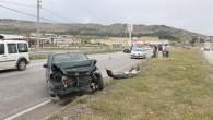 Tosya'da 2 Kaza;3 Yaralı