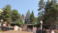 Tosya'da Bayraklar yarıya indirildi