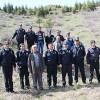 Polis Hatıra Ormanı'nda Fidanlar Toprakla Buluştu