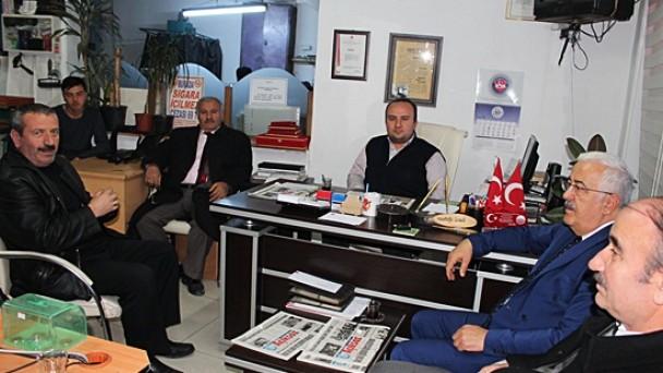 MHP Adayından Gazetemize Ziyaret