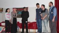 1500 kişiye 'Bedel' adlı tiyatro oyununu sahneledi