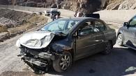 Tosya İHA Muhabiri Kaza Geçirdi
