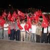 Tosya'da Demokrasi Nöbetine Devam
