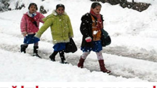 Eğitime Kar Molası
