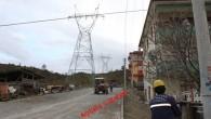 Tosya'dan Geçen Enerji Nakil Hattında Sona doğru