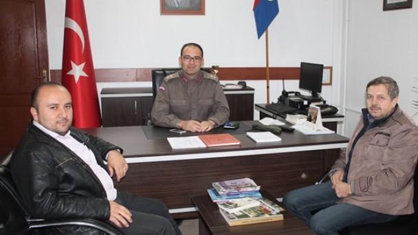Tosya Basınından Jandarma Komutanına Ziyaret