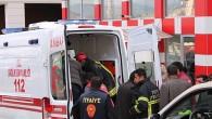 Asansör Kazası:1 Yaralı