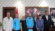 Şampiyonlardan Başkan Şahin'e Ziyaret