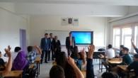 İlçe Milli Eğitim Müdürü Fen Lisesi'ni Ziyaret Etti