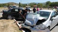 Çankırı Kavşağı'nda Kaza;3 Yaralı