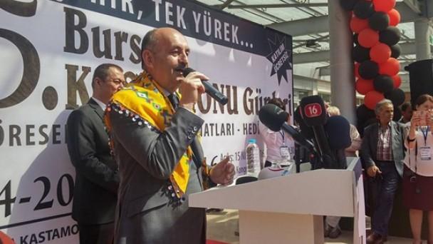 5. Bursa Kastamonu Günlerini Bakan Müezzinoğlu Açtı